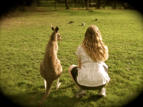 Hilary and Kanga