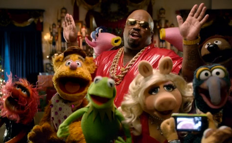 cee-lo and The Muppets