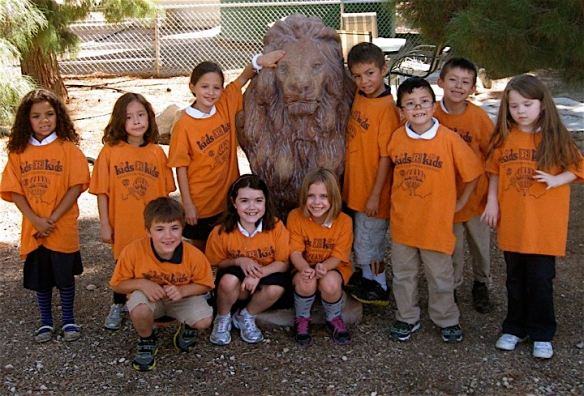 Lion Ranch kids