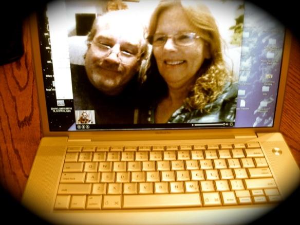 Skyping parents