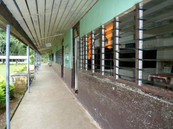 Fijian school hallway
