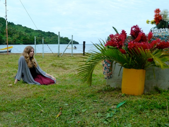 Hilary at Taleis Grave