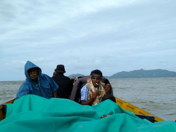 Village boat travelers