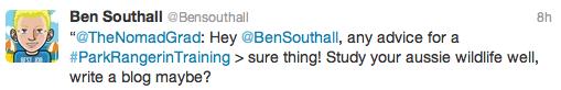 Ben Southall tweet